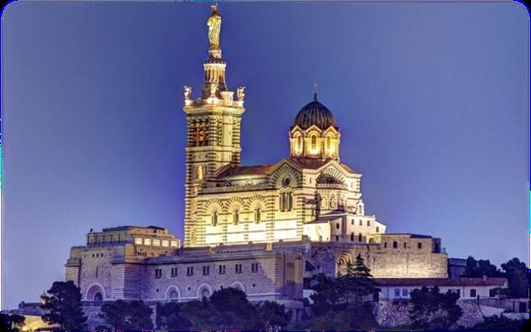 Базилика «Notre Dame de la Garde»