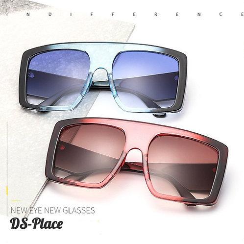 DS-Place 2020 Newest Design Big Frame Trendy Gradient Luxury Women Sunglasses