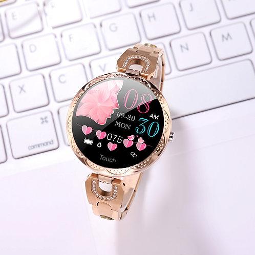 Fashion Women's Smart Watch Waterproof Sports Smartwatch for Women Ladies