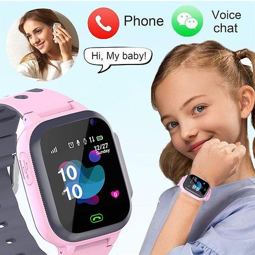 2021 Kid Phone Call Kids Smart Watch for Children SOS AntiLost Location Tracker