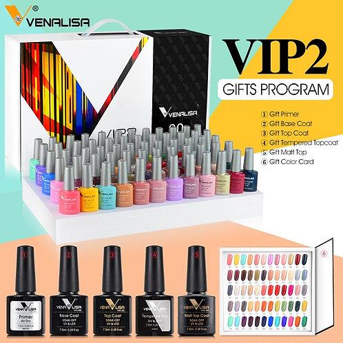2021 New 60 Fashion Color Gel Polish Vernish Color Nail Art Design Whole Set Kit