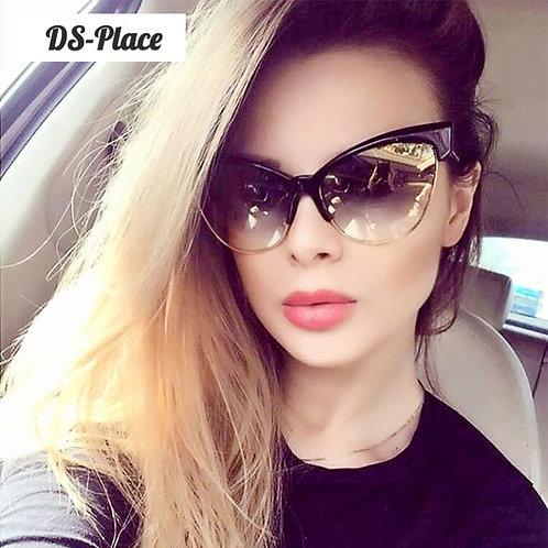 2020 Women Trend Uv400 Versatile Big size Luxury Sunglasses