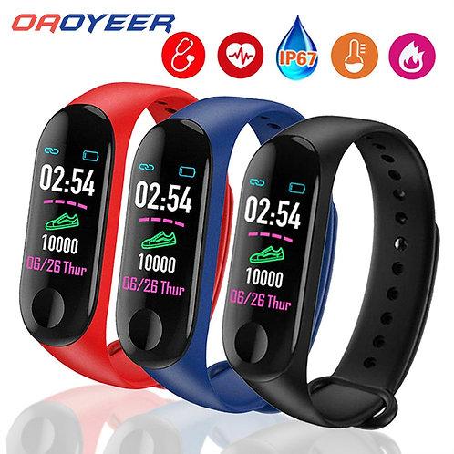 Sport M3 Pro Smart Watch Smart Band for Women Men Blood Pressure Monitor Smart