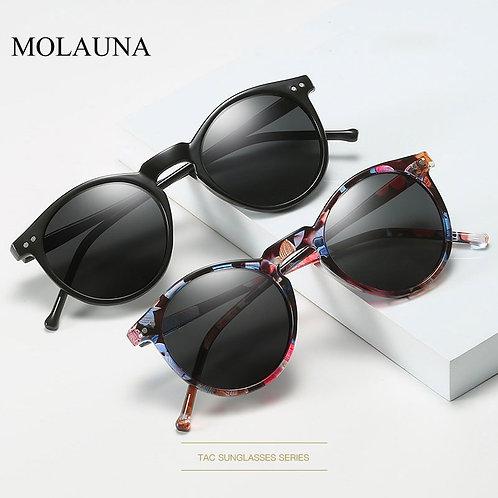 2020 UV400 Brand Designer Men Women Polarized Sunglasses Round Vintage Goggles