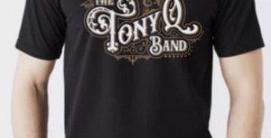 Mens TQ band Logo T-Shirt