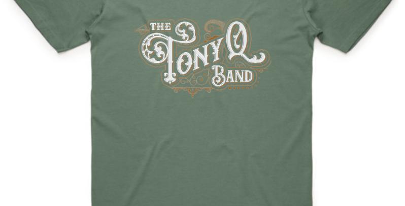 Army Green TQ band T-Shirt