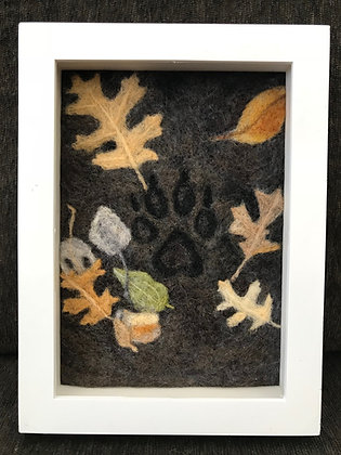 Autumn - from the 4 Seasons Paw Prints Collection