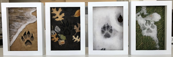 4 Seasons Paw Prints - Complete Collection