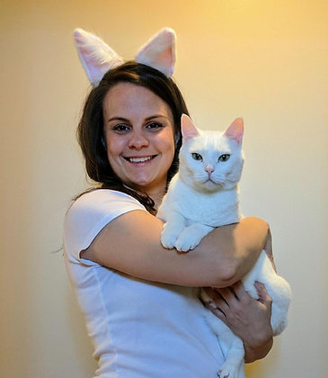 Puft = White Cat