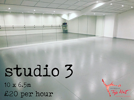 Dance Studio 3 Hire