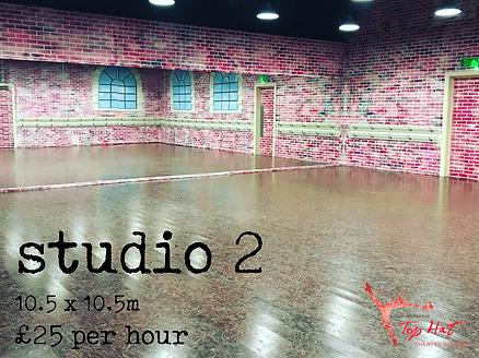 Dance Studio 2 Hire