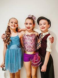 Dance class Children