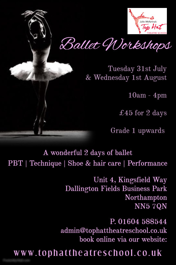 Ballet Summer Workshops