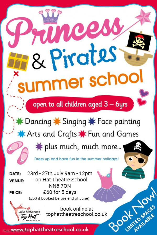 Princess and Pirates Summer School