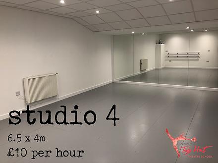 Dance studio 4 hire