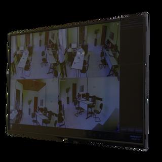 Monitor visualização das câmeras