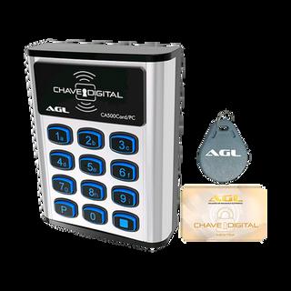 Novo controle de acesso CA500 Card   O controle mais completo do mercado com fonte inclusa