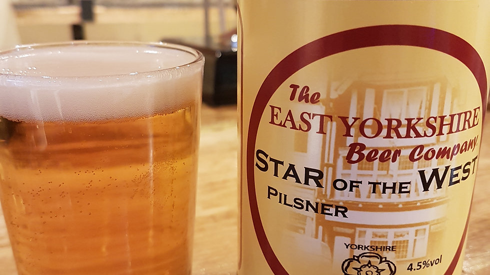 Star of the west Pilsner