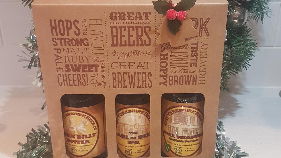 3 bottle Craft Beer pack