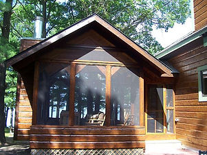 Timber Shelters - Screened Porch