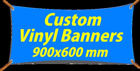 Custom PVC Vinyl Banner 900x600mm