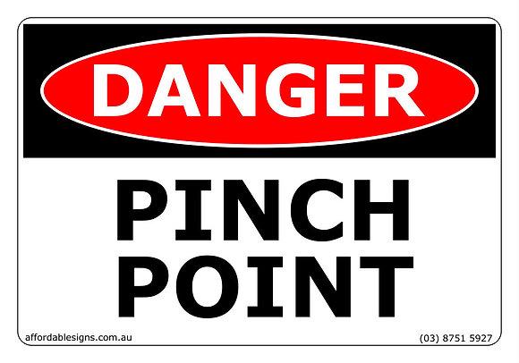 Danger Pinch Point