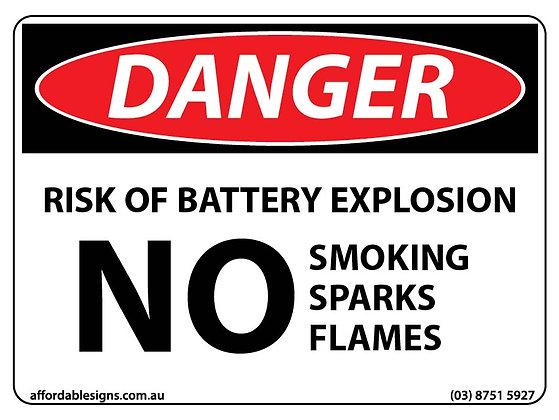 Danger Risk Of Battery Explosion