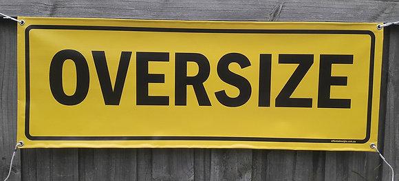 Oversize Vinyl Banner