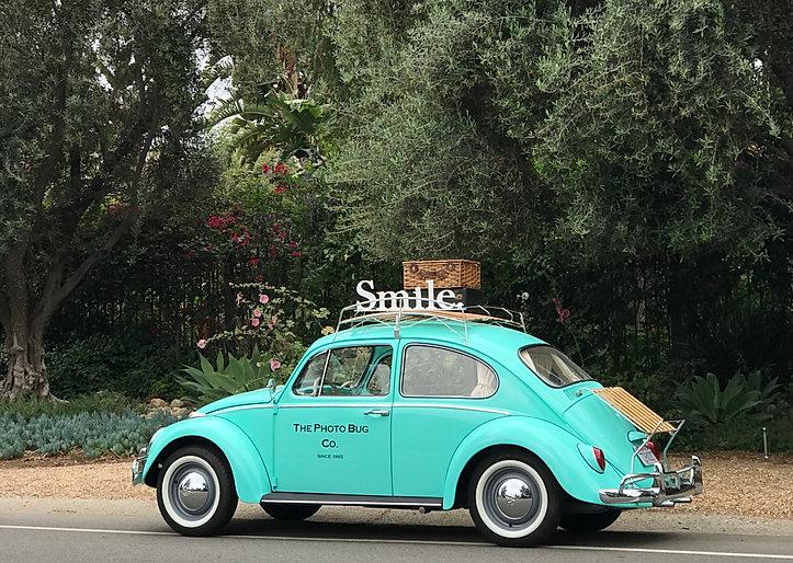 Vintage Photo Booth VW Bug Beetle