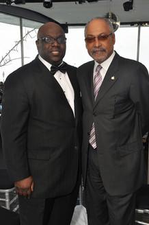 Charles Thomas, Jr. and Louis E. James