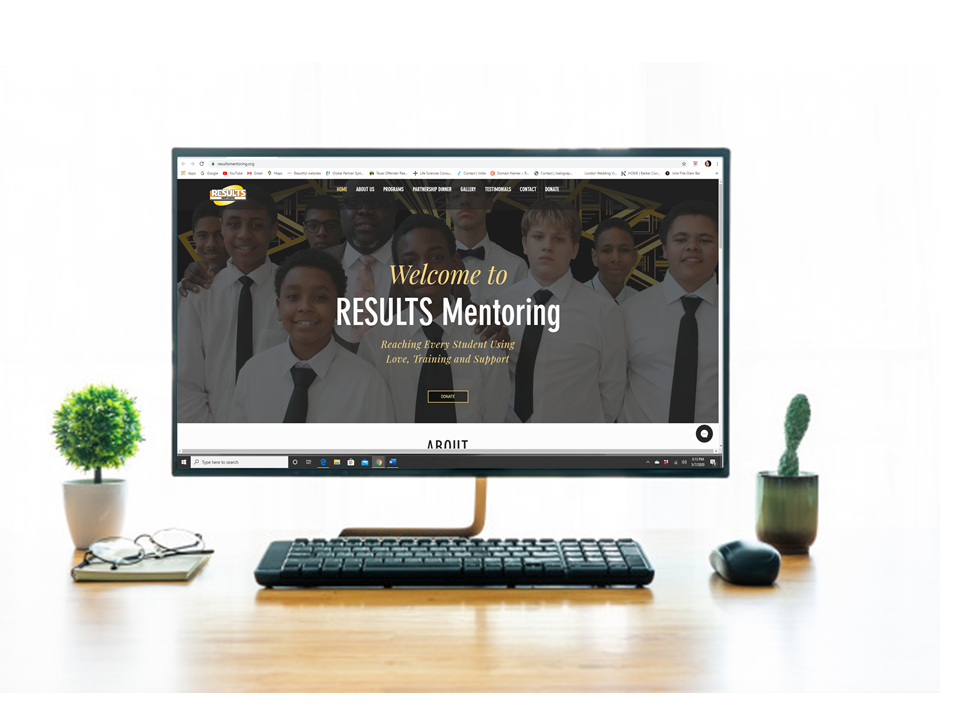 Client:  Results Mentoring