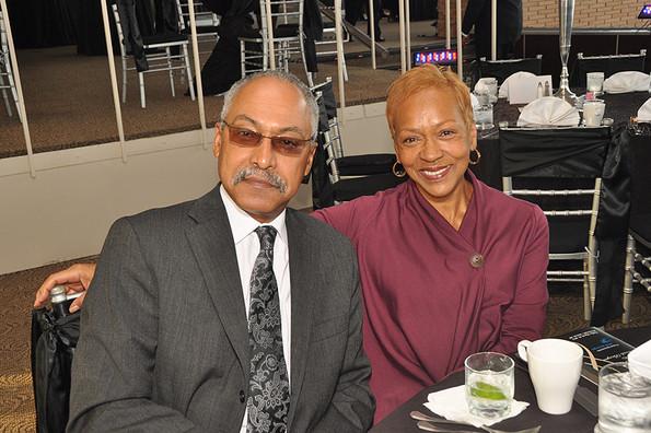 Louis E. James and Dr. Pamela James
