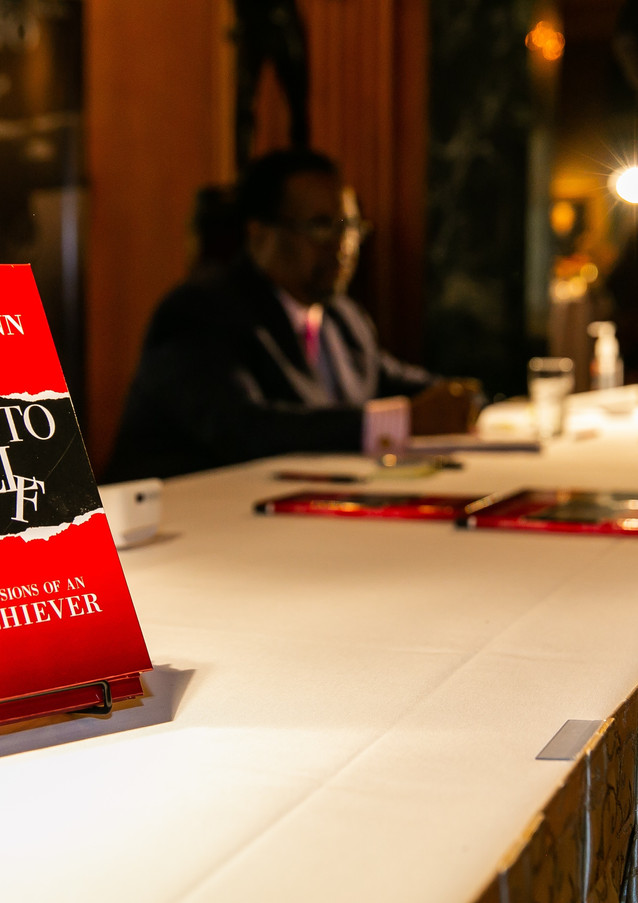 Edgar Vann's book signing of second book, I Did It To Myself