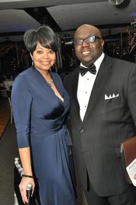 Karla Hall and Charles Thomas, Jr.