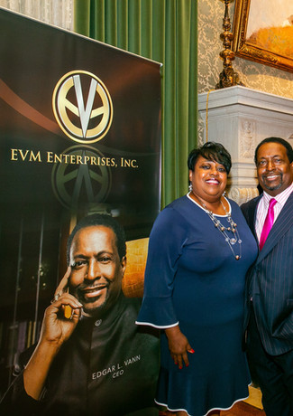 Sis Sheila Vann and Bishop Edgar L. Vann, II at the DAC
