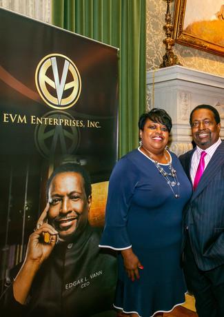 Sis Sheila Vann and Bishop Edgar L. Vann, II at the DAC