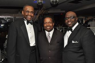 George Ross, Bishop Edgar Vann and Charles Thomas, Jr.