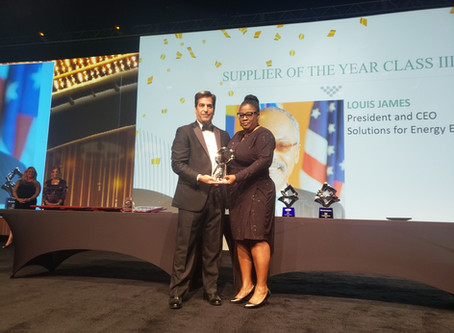 SEEL Wins Supplier of the Year at the 2019 NMSDC Awards