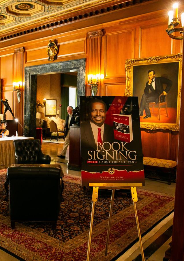 Edgar Vann's book signing event