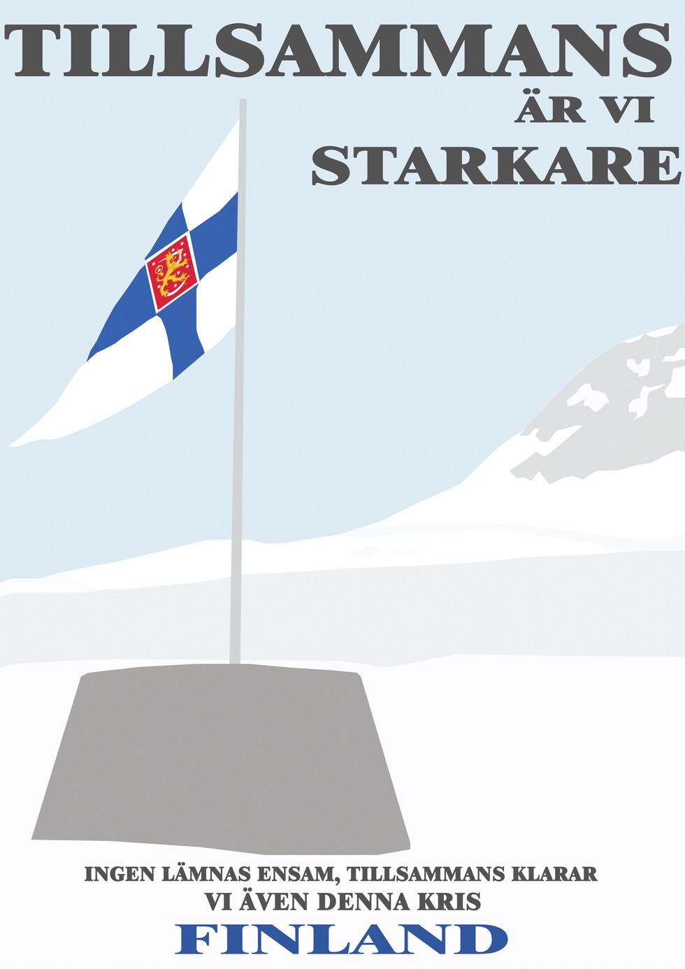 Ett enat Finland Poster