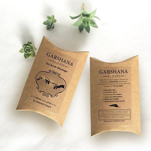 Garshana Silk Gloves - Lymphatic Drainage & Body Massage