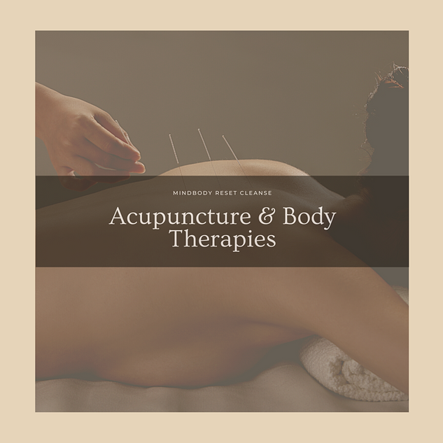 Western Acupuncture & Body Therapies