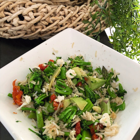 "Healthy Ayurvedic ""Fried Rice"""