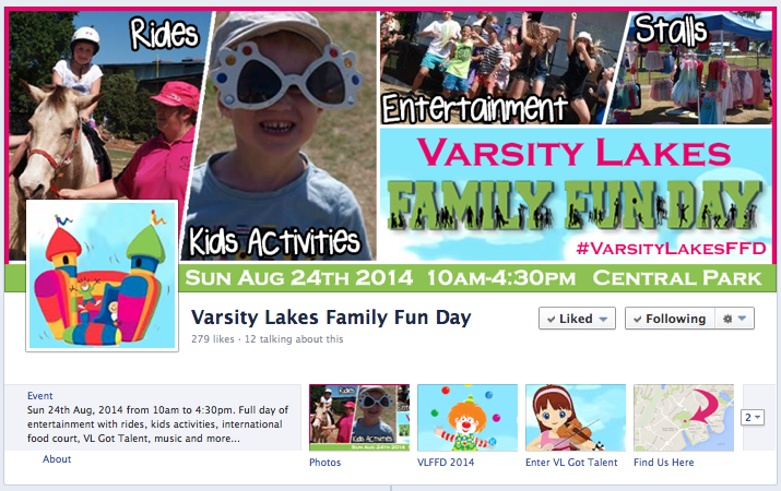 Varsity Lakes Family Fun Day 2014