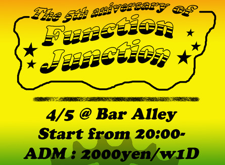 Function Junction 5th anversary!