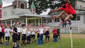 学校法人ホライゾン学園仙台小学校より陸上クラブ指導を受託いたしました