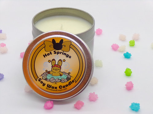 Hot Springs Soy Candle