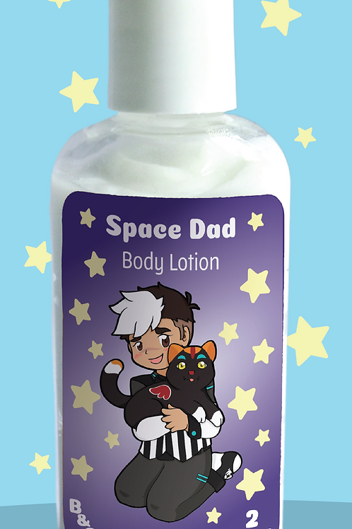 Space Dad Body Lotion