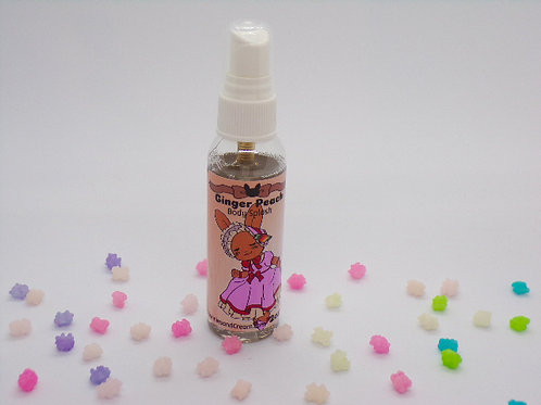 Ginger Peach Body Splash