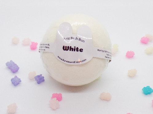 White Bath Bun